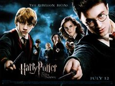 Harry Potter and the Order of the Phoenix (2007) - DS British Quad 30 x 40 - Style A