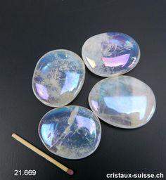 45 cm Nature Cristal de Roche Collier Pierres Précieuses en Chips Pierre,Env