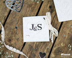 Add a personal feel to your wedding by crafting these beautiful invites! They're…