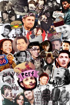 Supernatural collage~ made by Halah Rae