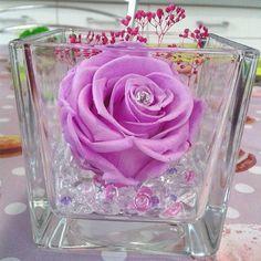 R❤SE ETERNELLE 100% NATURELLE NE FANE PAS❤ AUCUN ENTRETIEN #cadeau #mariage  #decoration  http://www.artifleurs-fleurs-artificielles.com