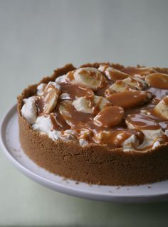 Love bananas and toffee? Look no further than Banoffee Pie.