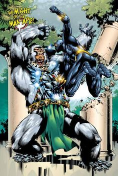 M'Baku the Man-Ape vs. Black Panther