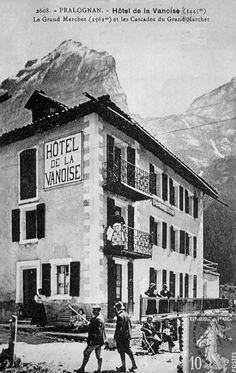 Le 1er hôtel de Pralognan la Vanoise un peu avant 1900 #pralognan #vanoise #vintage