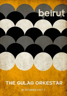 Beirut band poster. Good color
