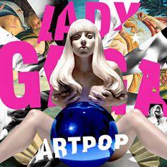 Lady Gaga's new ARTPOP album cover!