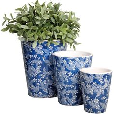 I pinned this 3 Piece Bella Planter Set from the Gifts for Gardeners event at Joss and Main!