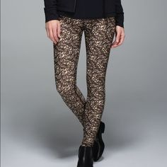 Lululemon Sequin High Waist Shine Tight These pants are adorable! And in perfect condition! lululemon athletica Pants