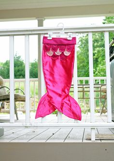 Mermaid Costume Tail Pink Magenta Size Large by arainydayplay, $30.00