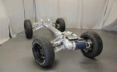 TREXA EV Prototype, Enertube, EV chassis, alternative transportation, green transportation, green automotive design