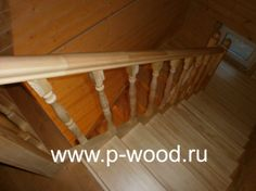 Фото - Изготовление лестниц из дерева в спб