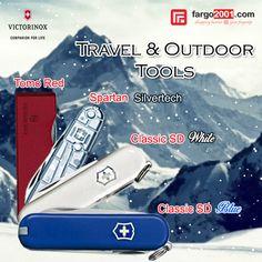 """Untuk kalian para pecinta """"travel"""" dan juga aktivitas outdoor, fargo2001.com mempersembahkan alat-alat serbaguna dan berkualitas dari Victorinox yang akan mempermudah dan melancarkan perjalanan Anda. http://fargo2001.com/sports-165/travel-amp-outdoor-activities-188"""
