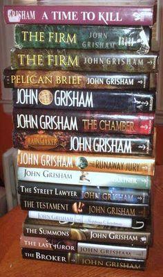 John Grisham - yep, read them all.