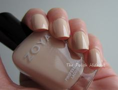 Zoya Nail Polish in Cho - nude nail polish perfection! http://www.zoya.com