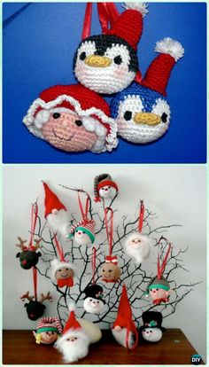 Crochet Christmas Ornament Collection Free Patterns