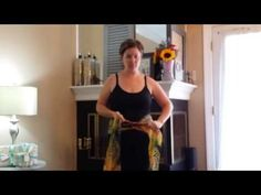 Bengkung Belly Binding for Postpartum Mothers - YouTube
