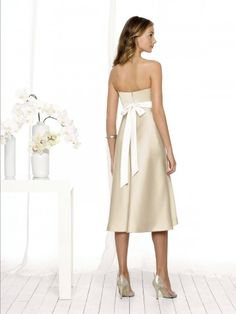 bridesmaid dresses? in a different color