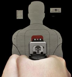 Glock  ( 45 ACP Punisher Edition ) by ZORIN DENU, via Flickr
