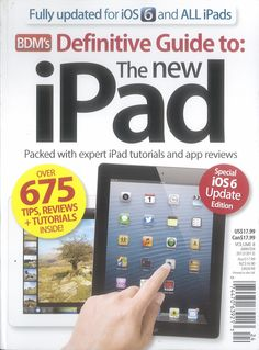 Definitive Guide to the New iPad edited by Jimmy Gale (104p) #Book