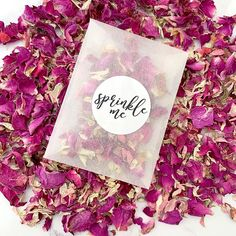 Our frosted packets and stickers are biodegradable and compostable. These packets include natural petals. Each packet includes of confetti which is a handful and suitable for one per person. Biodegradable Confetti, Biodegradable Products, Paper Confetti, Confetti Ideas, Wedding Schedule, Wedding Confetti, Rose Petals, Beautiful Flowers, How To Memorize Things