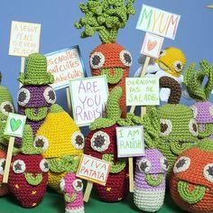 Les Myum : des jouets en crochet fait à la main - Myum : veggie crochet toys                                                                                                                                                                                 Plus