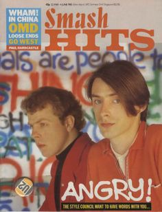 The style council Paul Hardcastle, The Style Council, Paul Weller, Cool Poses, Music Artwork, Music Magazines, 90s Nostalgia, Him Band, Music Artists