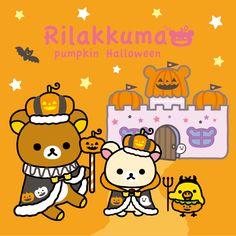 #Rilakkuma #Halloween2015 |( ̄3 ̄)|