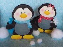 Laterne Pinguin Pepe & Paula (Windlicht)