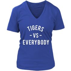 TIGERS VS Everybody (Tennessee State inspired - white)