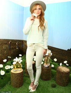 bella thorne + pants