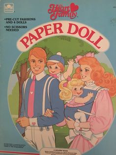 I loved Paper Dolls. Omg I had this and the heart family Barbie dolls! Barbie Paper Dolls, Paper Dolls Book, Vintage Paper Dolls, Mattel Barbie, Vintage Toys, Vintage Cartoon, 90s Childhood, My Childhood Memories, Sweet Memories