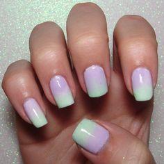 Gradient pastels