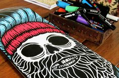 Santi Lissarrague skateboard deck