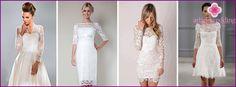 Svatební šaty s krajkovými rukávy: populárních modelů a stylů 2015, tipy na výběru, fotky