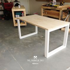 Image of Williamsburg Study Table / Plywood …