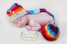 INSTANT DOWNLOAD Crochet Long Tailed Hat Pattern PDF (Long Tailed). £2.10, via Etsy.  Photograph used with the kind permission of Sarah at Sweet Pea Photography https://www.facebook.com/sweetasapea?ref=ts=ts