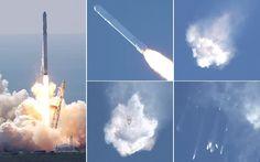 Weak steel strut blamed for SpaceX rocket explosion - Telegraph