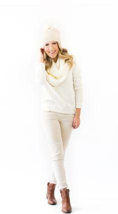 Stephanie Sterjovski | LOFT Winter Whites