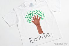 earth day t-shirts | ... or show your support for Earth Day by wearing a handmade tree t-shirt #earthdaycrafts