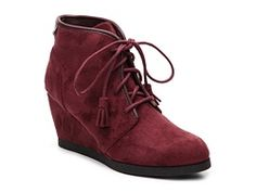 Madden Girl Dallyy Wedge Bootie - only in black