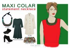 Maxi Colar / Statement Necklace - THE BASIC style's blog - RAQUEL MARTO