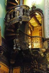 Peles Castle Interior, Sinaia, Romania