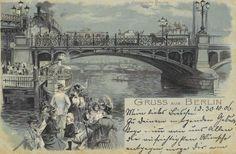 Jannowitzbrücke, Gemälde von Julius Jacob, 1885