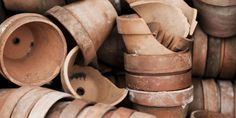 Just a few things on the long list of ways to repurpose a chipped terra-cotta pot? Turning the rims into garden markers, using the shards to top off soil and keep critters at bay, or even designing a fairy garden. PLUS: 7 Clever Things to Do With a Broken Terra-cotta Pot   - CountryLiving.com