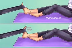 Here are six exercises to get rid of knee and foot pain forever - Tips and Tricks - Tips and Crafts Hip Pain, Foot Pain, Knee Pain, Get Rid Of Bunions, Knee Exercises, Body Joints, Thigh Muscles, Sore Feet, Leiden