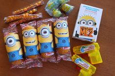 Vacuuming in high heels & pearls: The Minion Birthday party - lots of good ideas