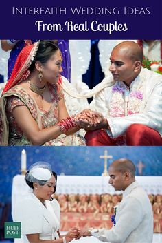 For interfaith couples, marriage ceremonies represent so much more than tying the knot. Our Wedding Day, Trendy Wedding, Wedding Ideas, Wedding White, Wedding Blog, Diy Wedding, Dream Wedding, Muslim Greeting, Afghan Wedding