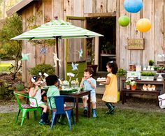 Time to Grow Birthday Party :: The TomKat Studio for Pottery Barn Kids - Party Plan, Recipes, Crafts + Free Printables!