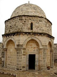 Chapel of the Ascension, Jerusalem www.tektonministries.org #tekton #catholicpilgrimage #holylandpilgrimage