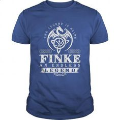 The Legend Is Alive FINKE An Endless Legend - #husband gift #funny hoodie